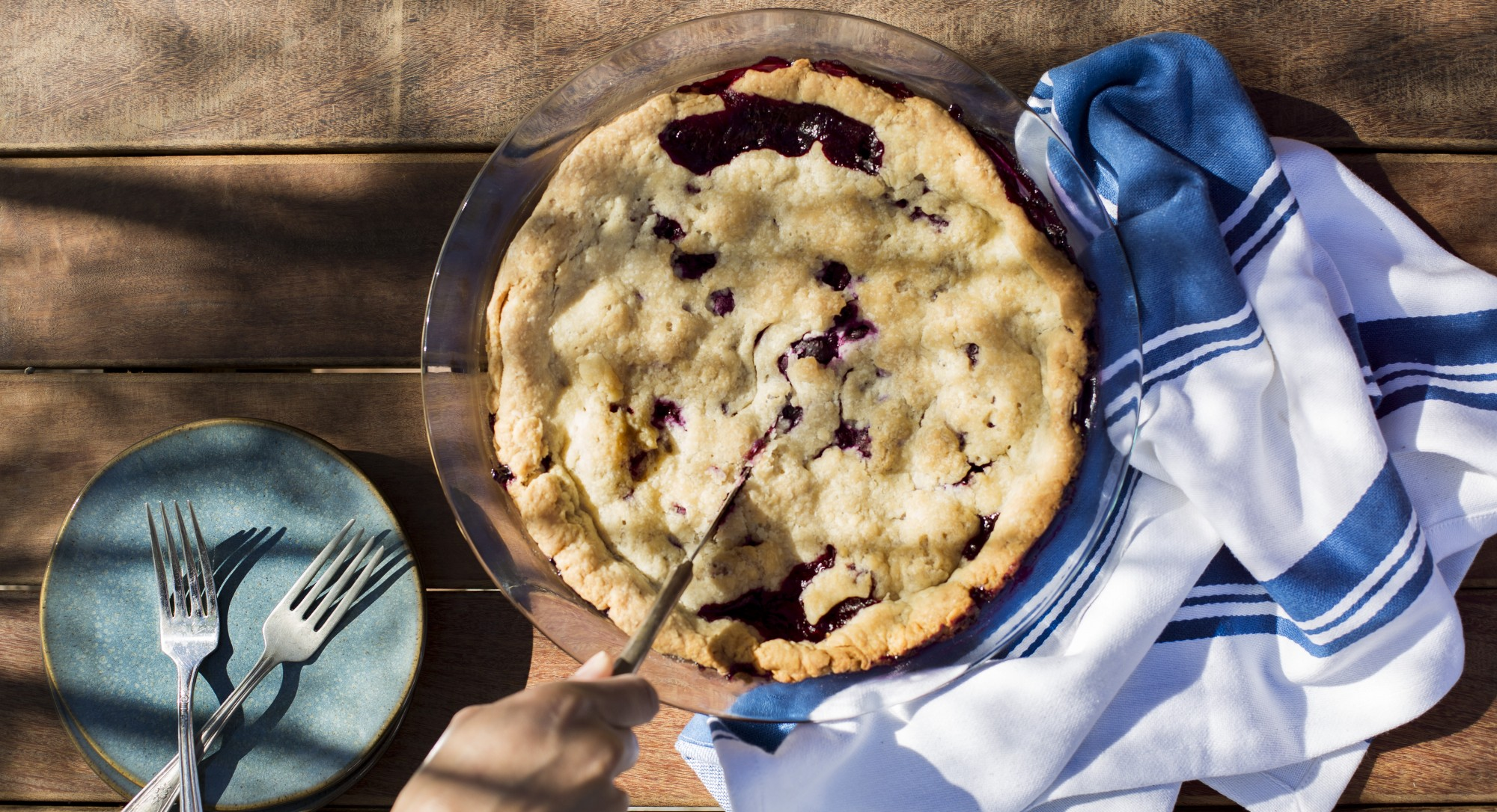 Thrive Tries It: Is a Blueberry Pie Still a Pie When It's Baked With Coconut Oil?