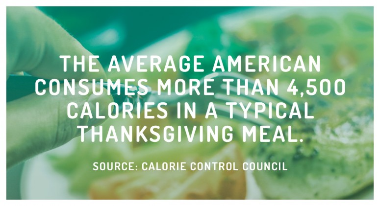 Staggering Statistic: How Many Calories We Really Eat at Thanksgiving
