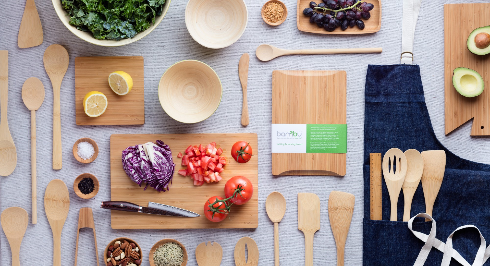 Why Your Kitchen Should Be Stocked with Bamboo, Not Plastic