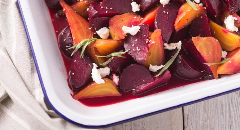 Star Anise, Orange, and Goat Cheese Elevate These Roasted Beets