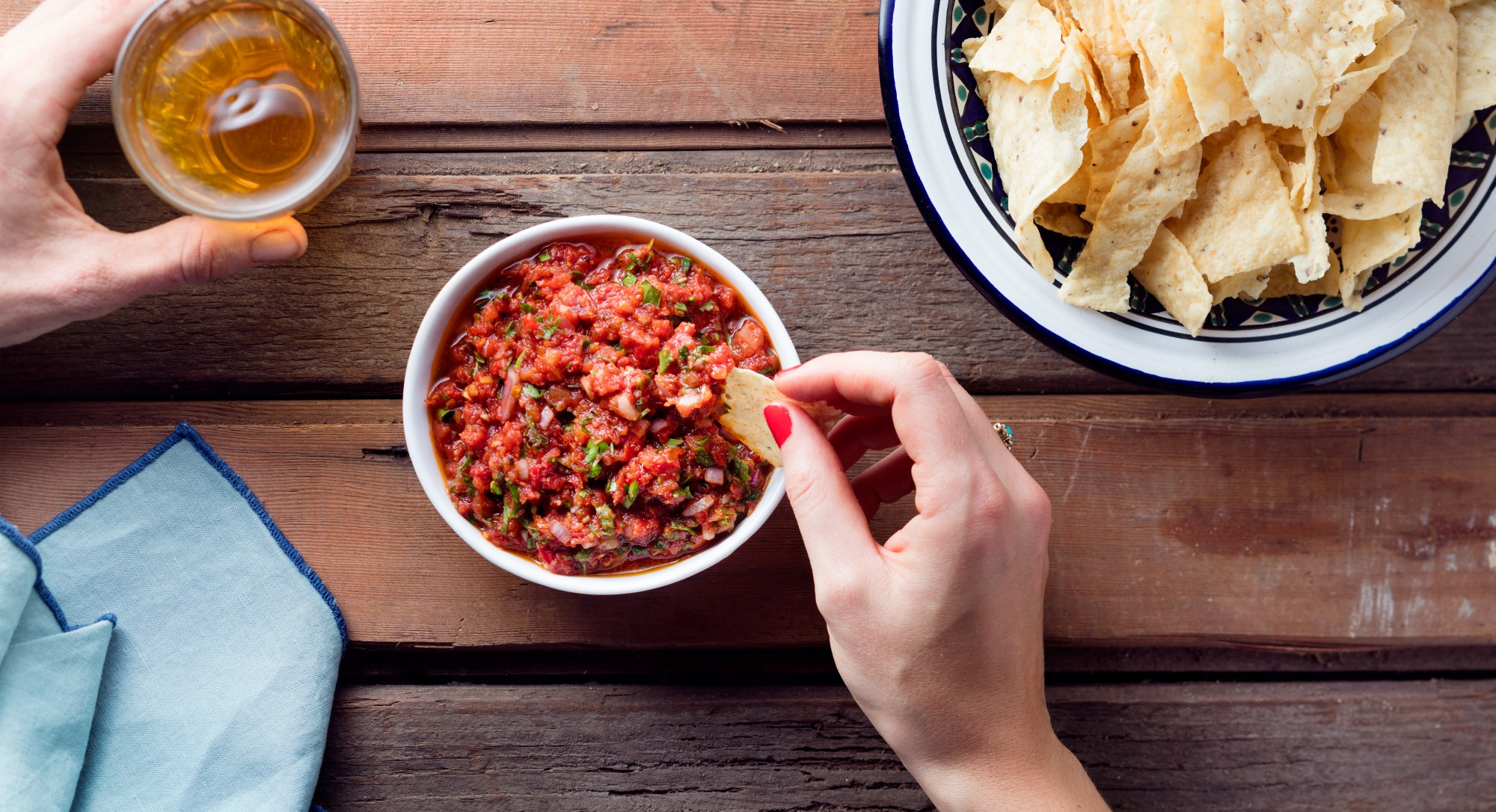 Slow-Roasted Tomatoes Give Salsa a Fresh New Flavor