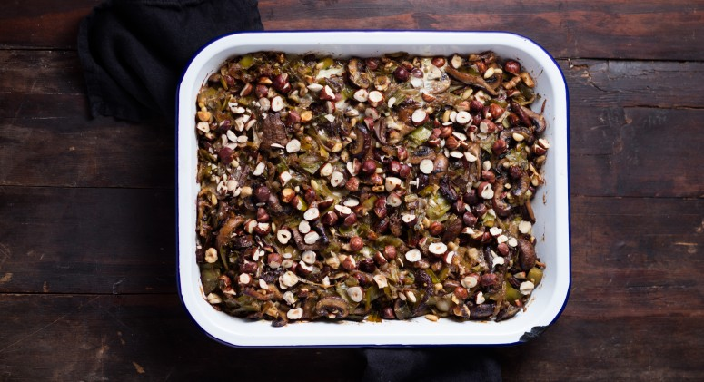 Fill The Turkey With This Gourmet, Paleo-Friendly Mushroom Stuffing