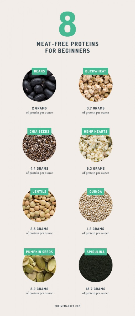 Meat-Free Protein Infographic
