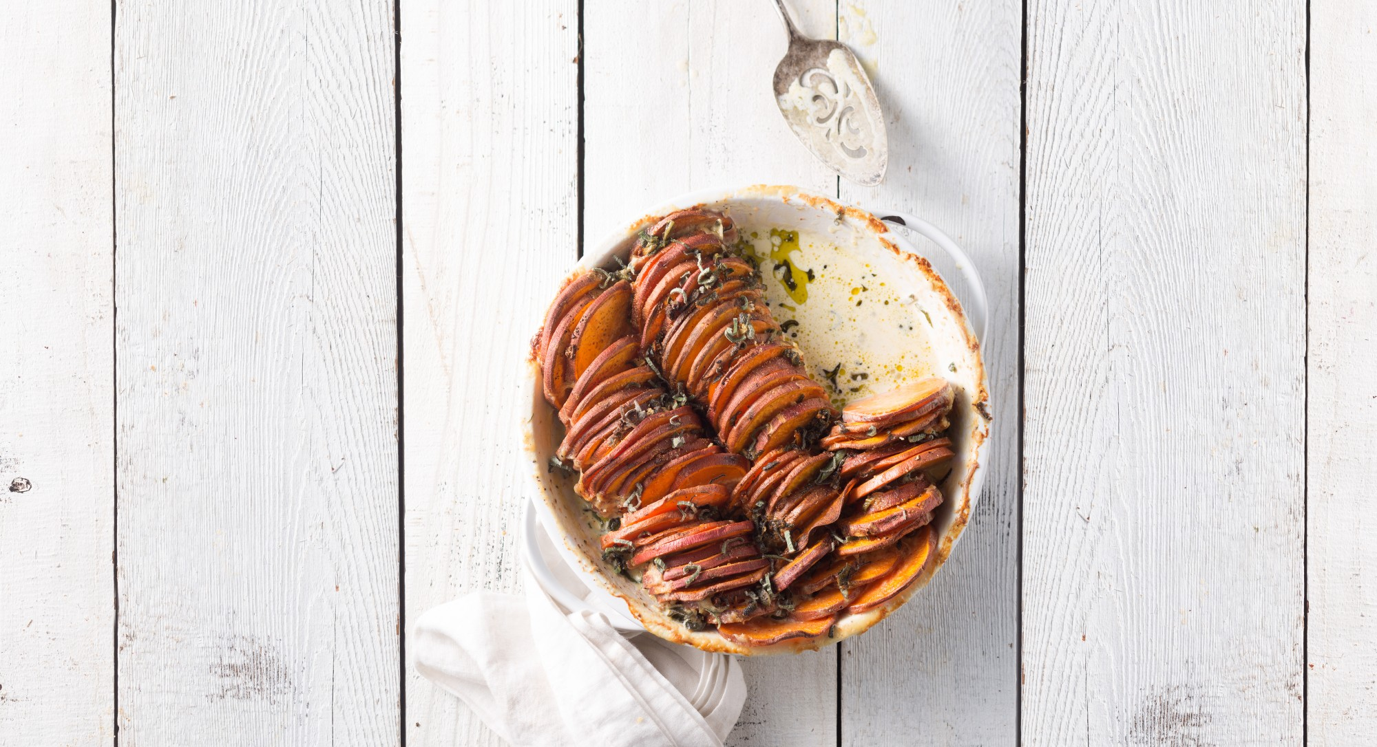 We Guarantee You'll Be Back For Seconds Of This Sweet Potato Gratin