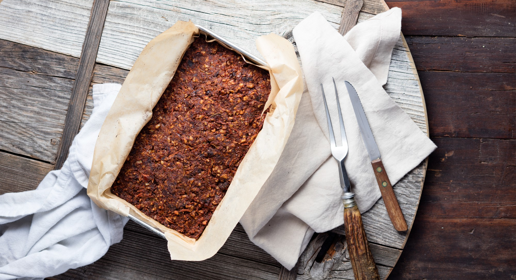 Reinventing a Classic: This Vegan 'Meatloaf' Is Better Than The Original