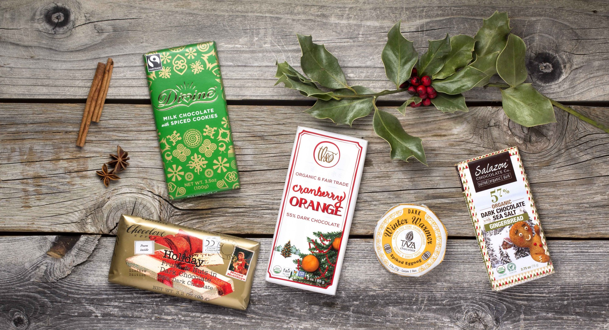 Thrive 5: Stuff Your Stocking With These Festive Holiday Chocolates