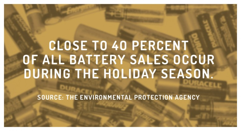 Staggering Statistic: It's the Most Wonderful Time of the Year...For Batteries