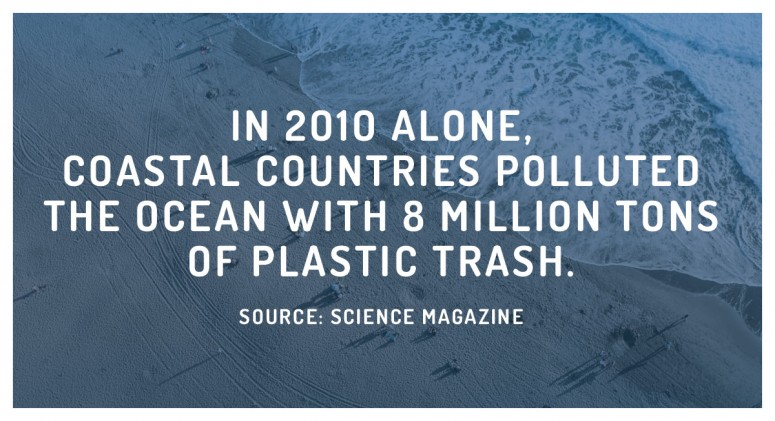Staggering Statistic: Just How Much Trash Gets Dumped into Oceans?