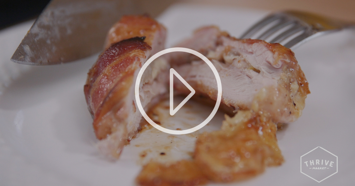 VIDEO: These Bacon-Wrapped Chicken Thighs Will Blow Your Mind
