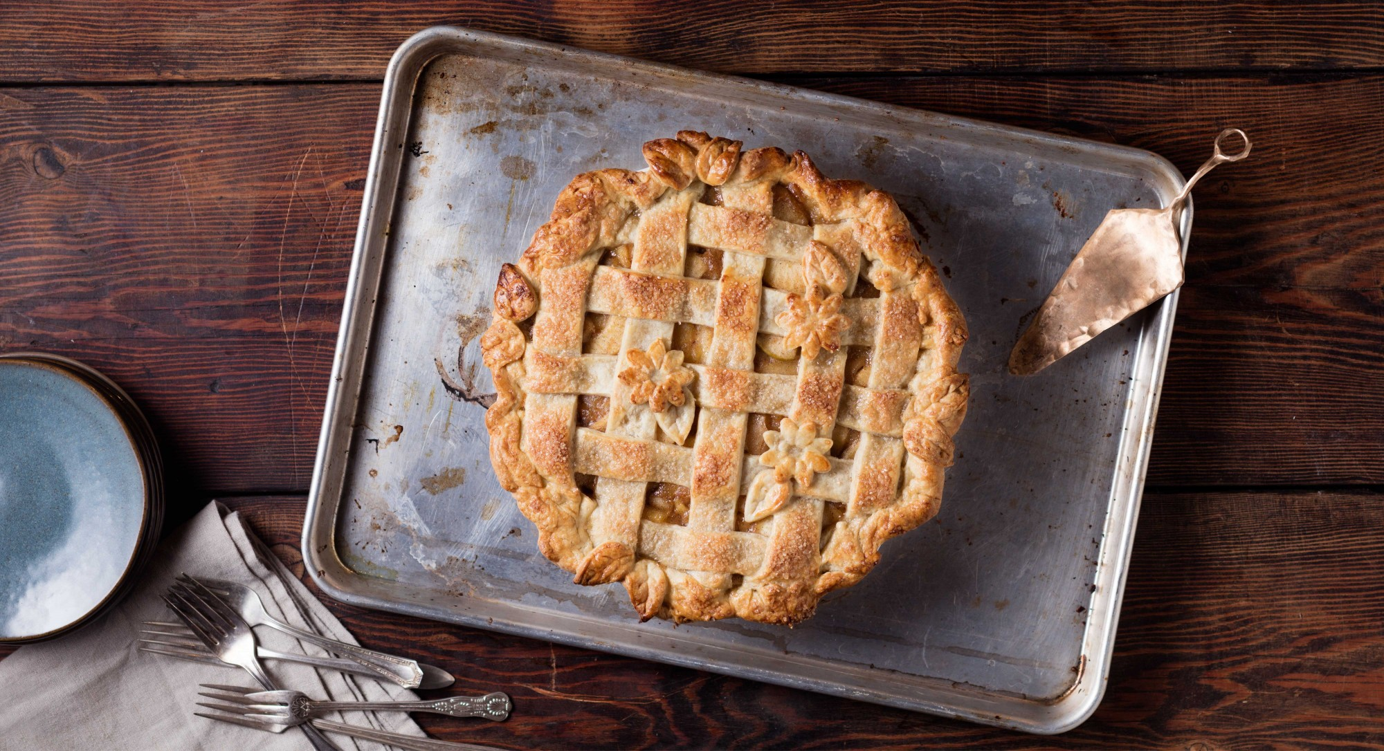 The Secret to Perfecting a Classic Apple Pie With a Lattice Crust