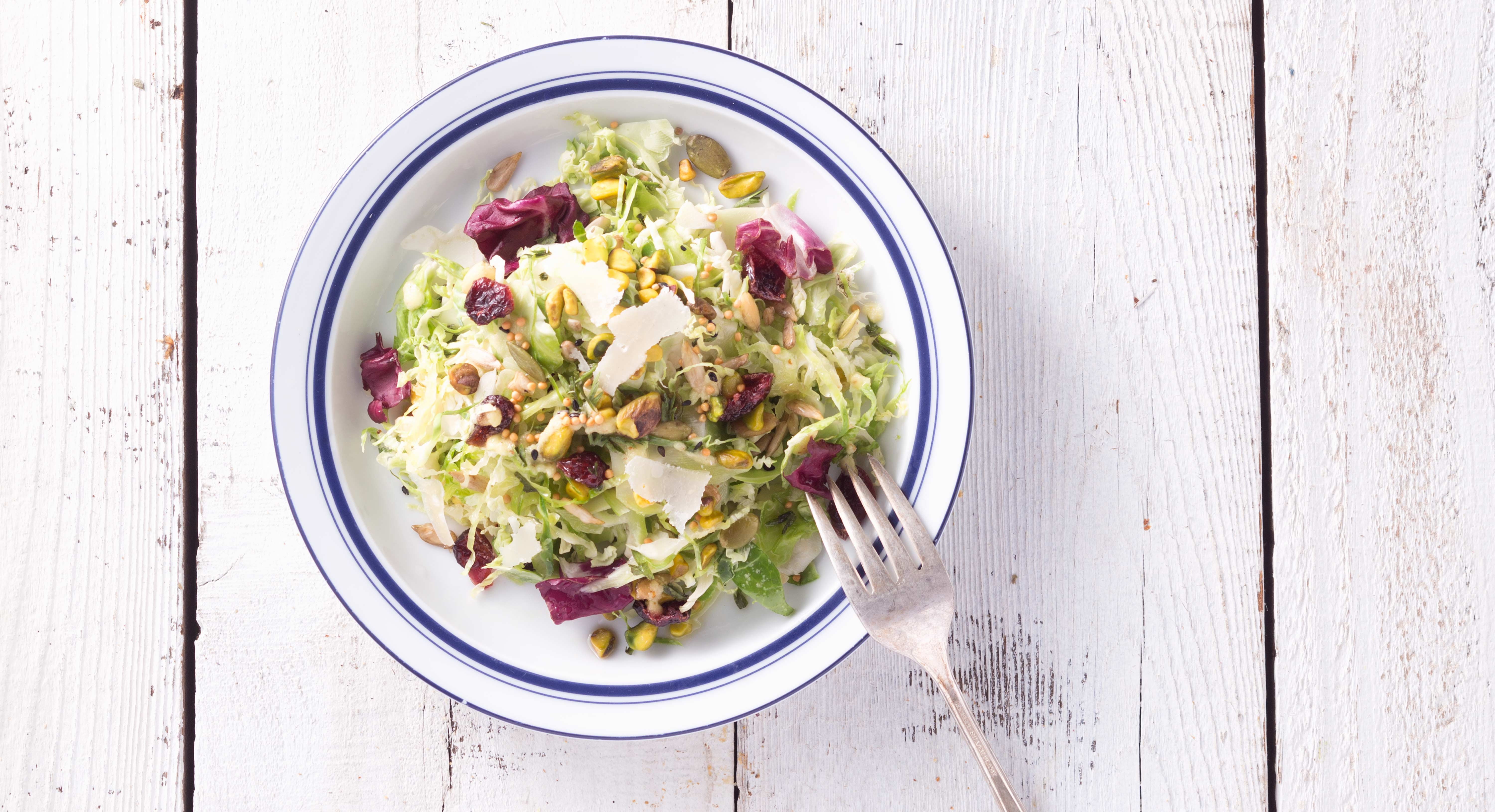 This Crunchy Brussels Sprouts Slaw Is the Ultimate Winter Salad
