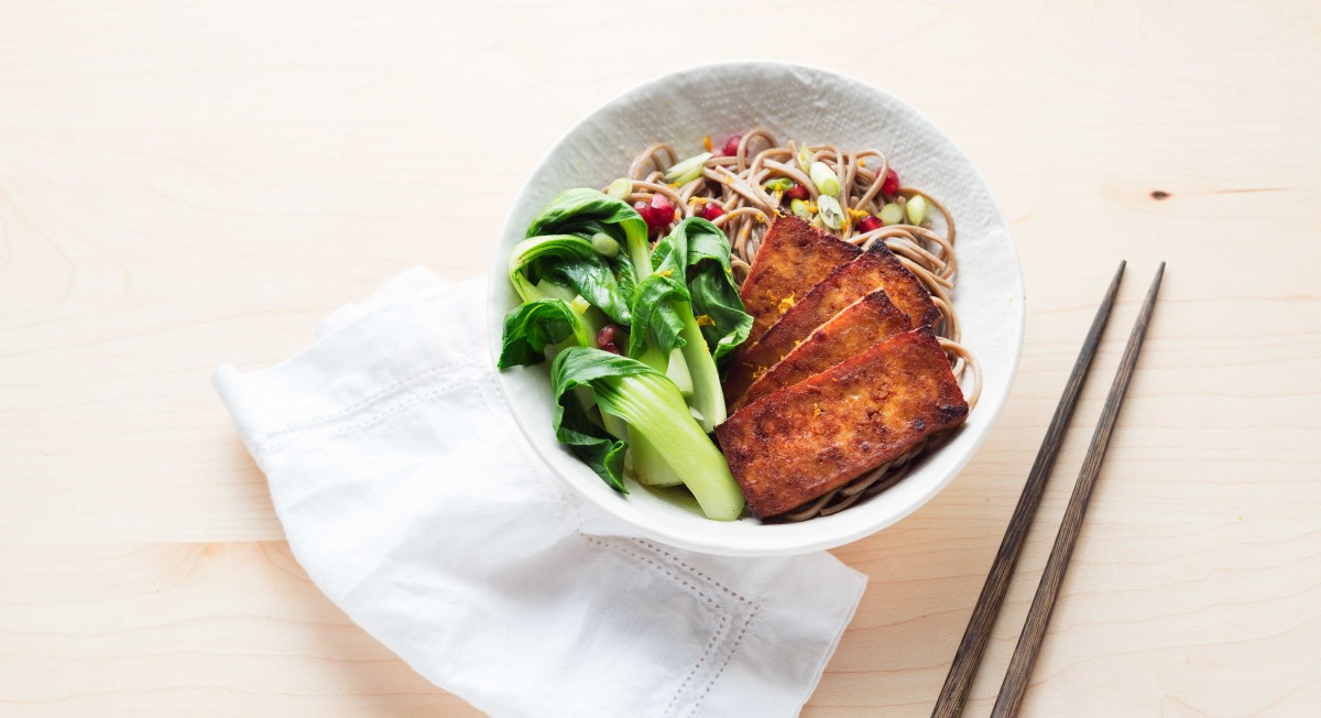 Tofu wellness bowl