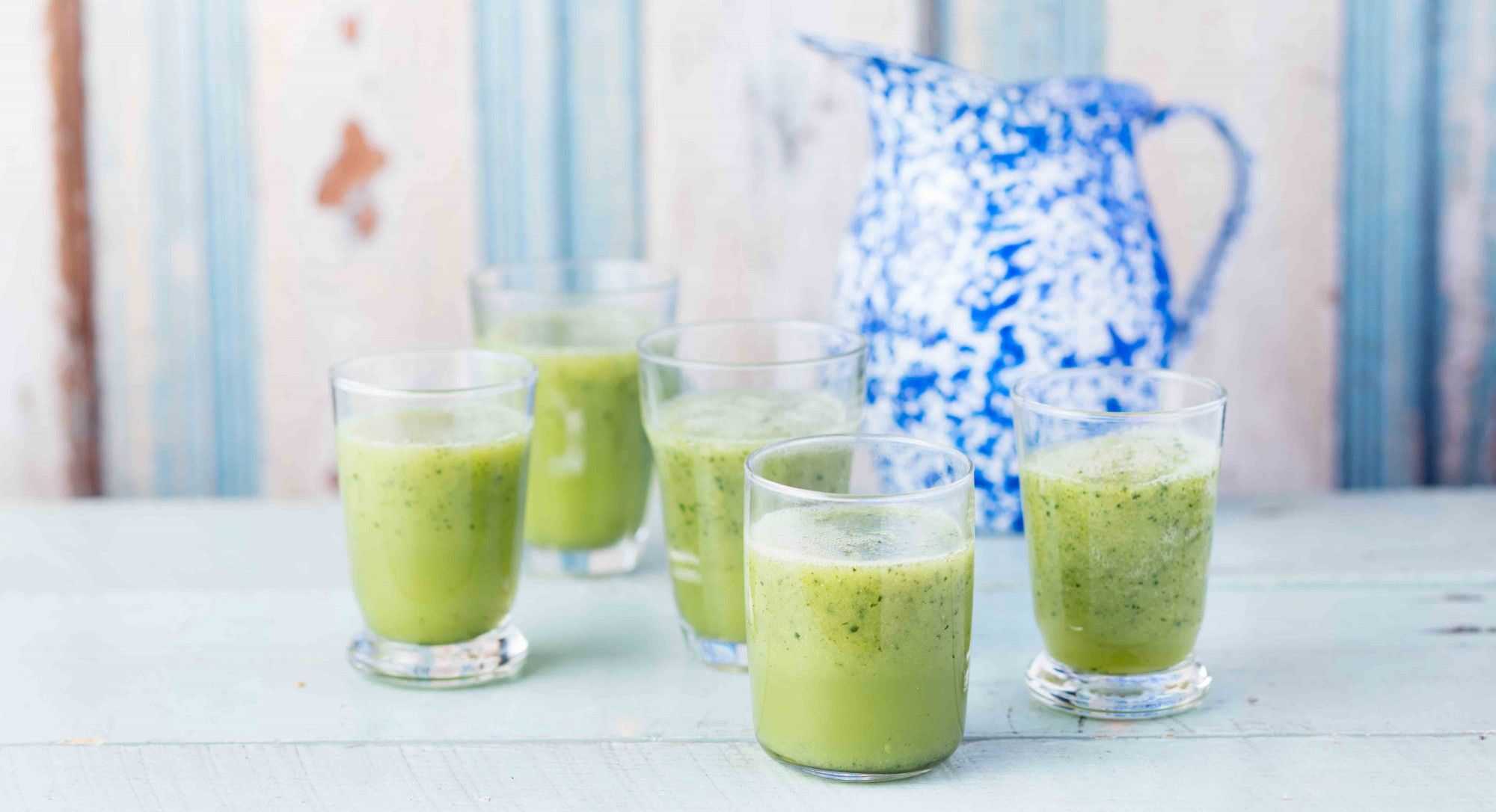 A Cucumber-Mint Smoothie to Detoxify and Reset Your System