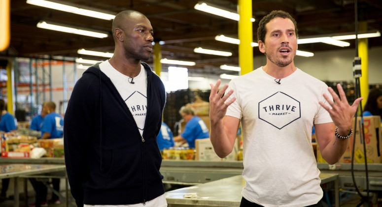 Thrive Market Founder Gunnar Lovelace Talks Food Insecurity and Feeding America