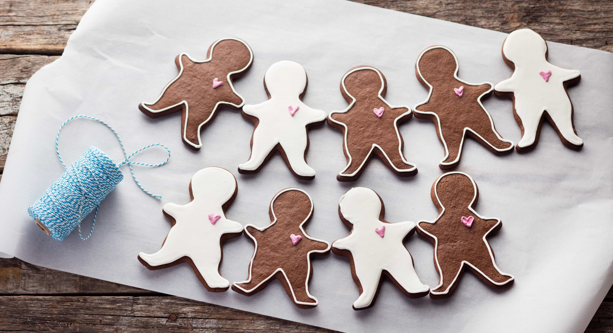 It Wouldn't Be Christmas Without Iced Gingerbread Men