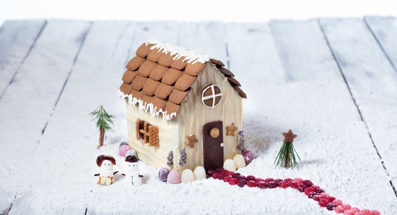 How to Construct and Decorate the Cutest Gingerbread House