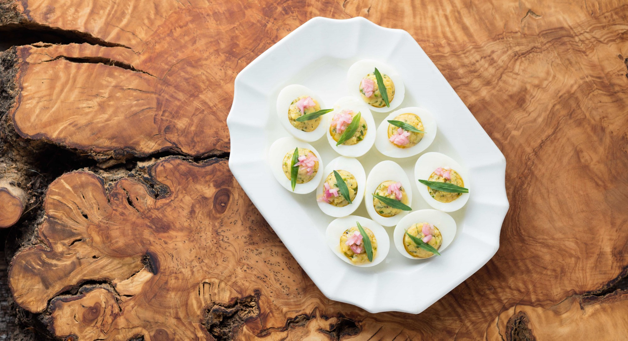 For an Elegant Appetizer, Make Deviled Eggs With Fresh Herbs