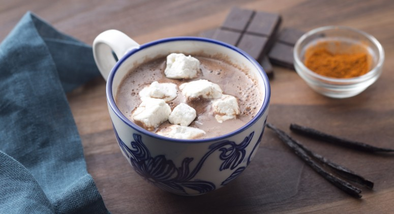 Spice Up Your Life With Maca Mexican Hot Chocolate