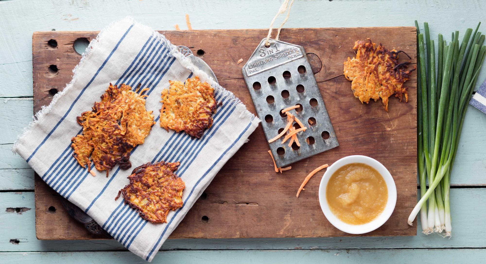 Celebrate Hanukkah the Paleo Way With Sweet Potato Latkes