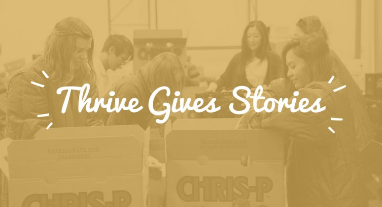 "Thrive Gives Stories: ""It's Hard to Find Some of the Essential Foods We Need"""
