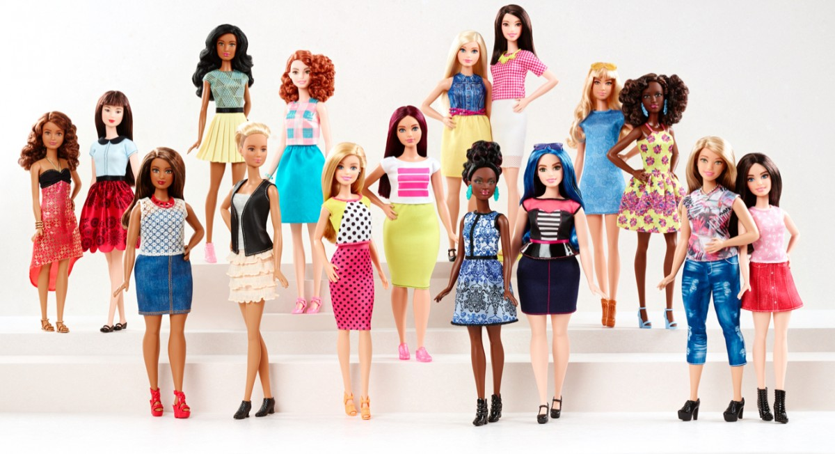 How the New Curvy, Tall, and Petite Barbies are a Game-Changer for Girls
