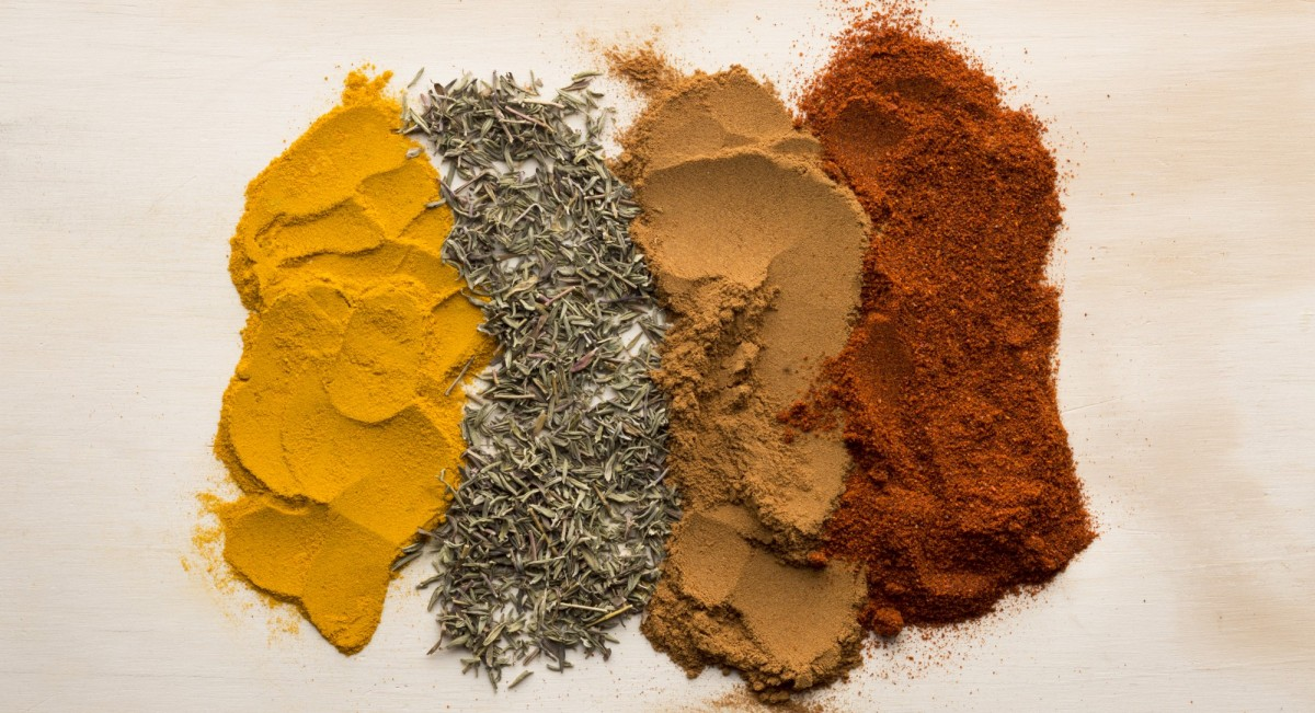 A medley of spices