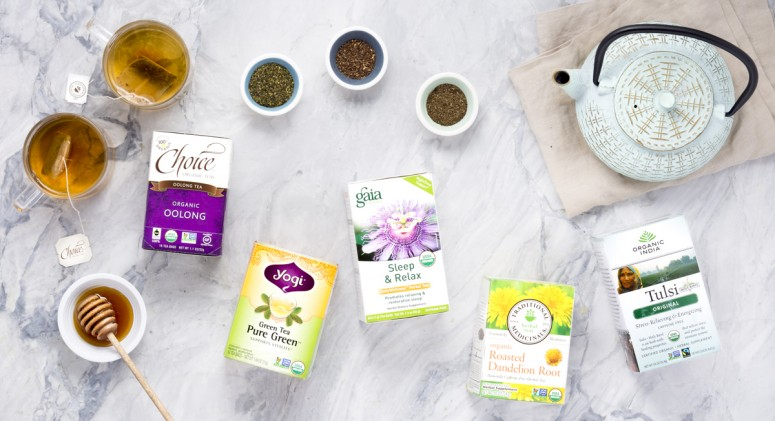 Thrive 5: Teas to Ward Off Wintertime Blues, Sniffles, and Stress