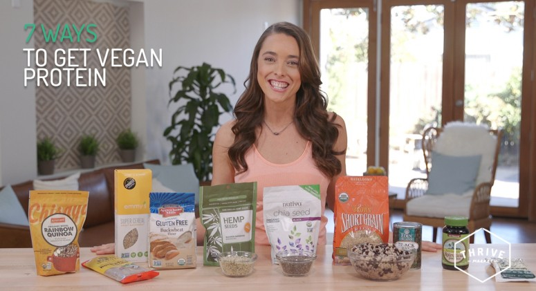 VIDEO: 7 Ways to Get Your Protein Fix on a Vegan Diet