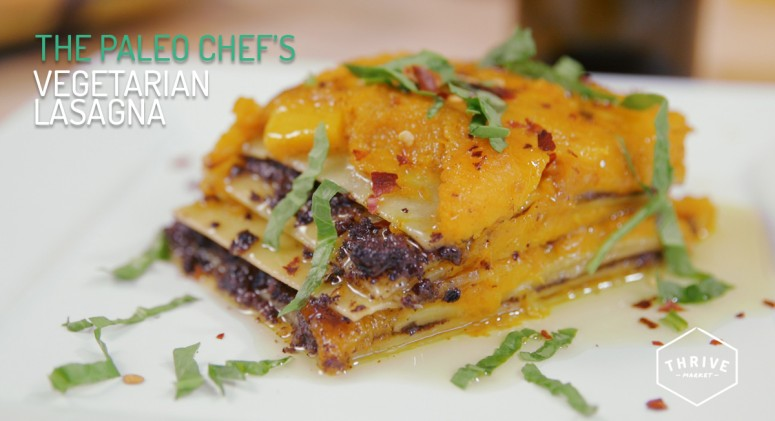 VIDEO: Butternut, Mushrooms, and Olives Make an Unexpected Veggie Lasagna