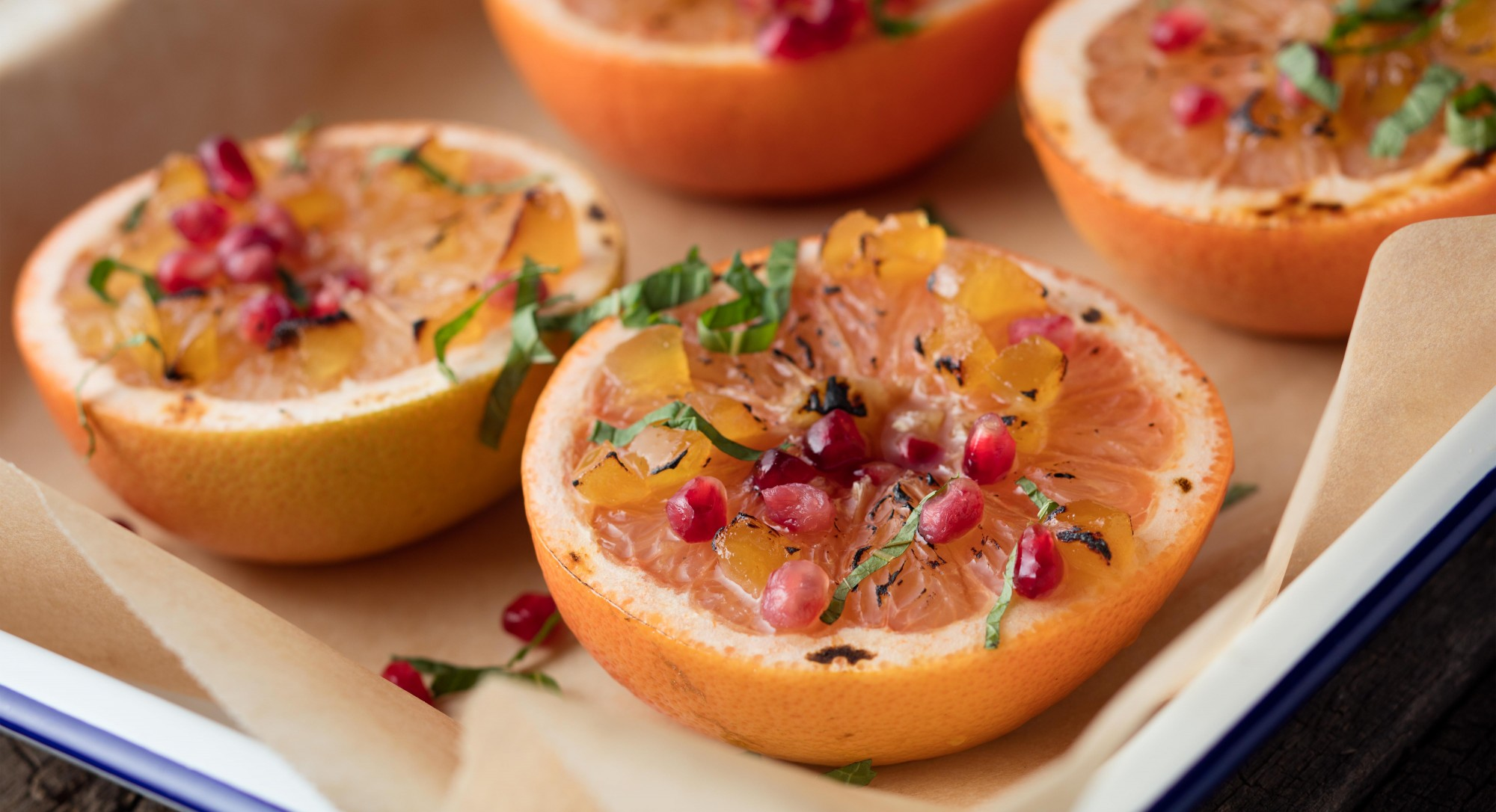 Craving Creme Brulee? Try Broiled Grapefruit With Ginger and Honey