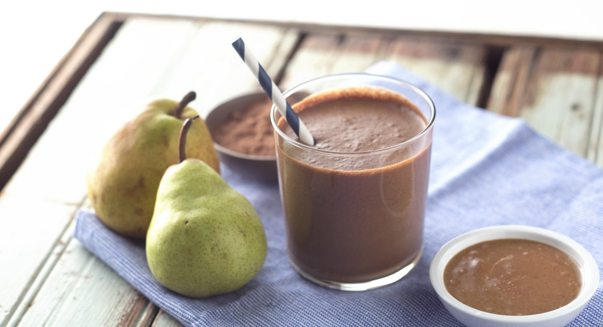 Chocolate-Pear Smoothie