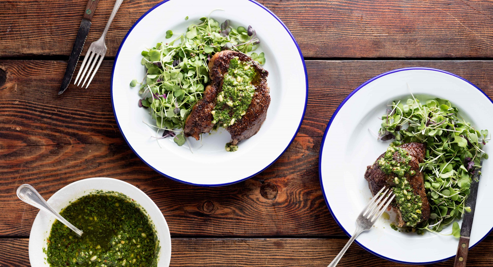 Our Bright Pine Nut Chimichurri Adds Big Flavor to Grilled Meats