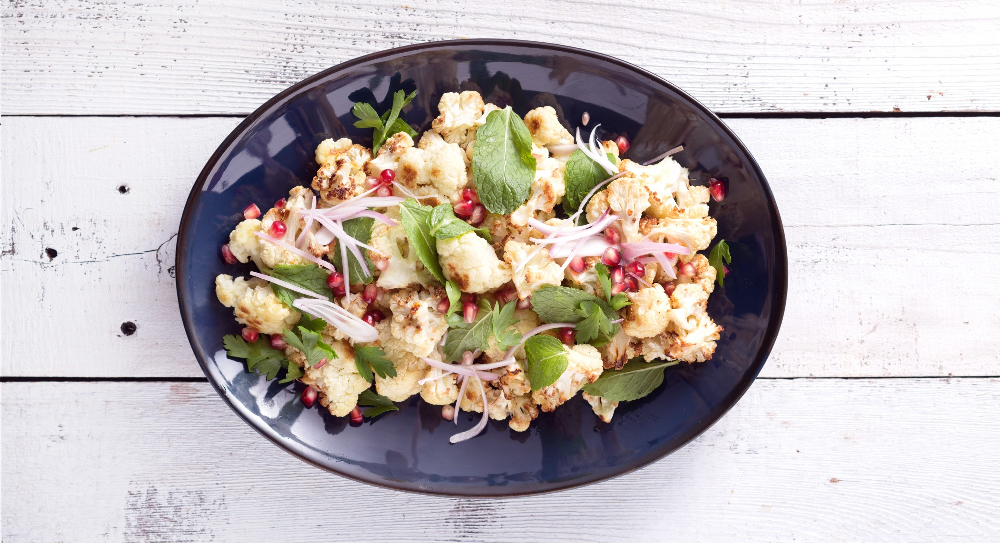 A Creative Roasted Cauliflower Salad Guaranteed to Wow Dinner Guests