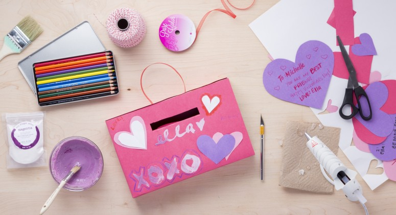 You've Got Mail! A Cute, Eco-Friendly Valentine's Day Mailbox DIY for Kids
