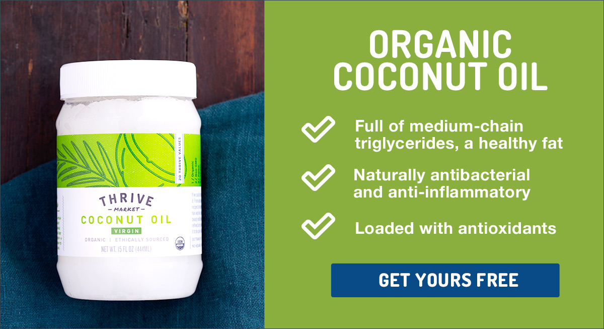 Blog organic coconut oil ad