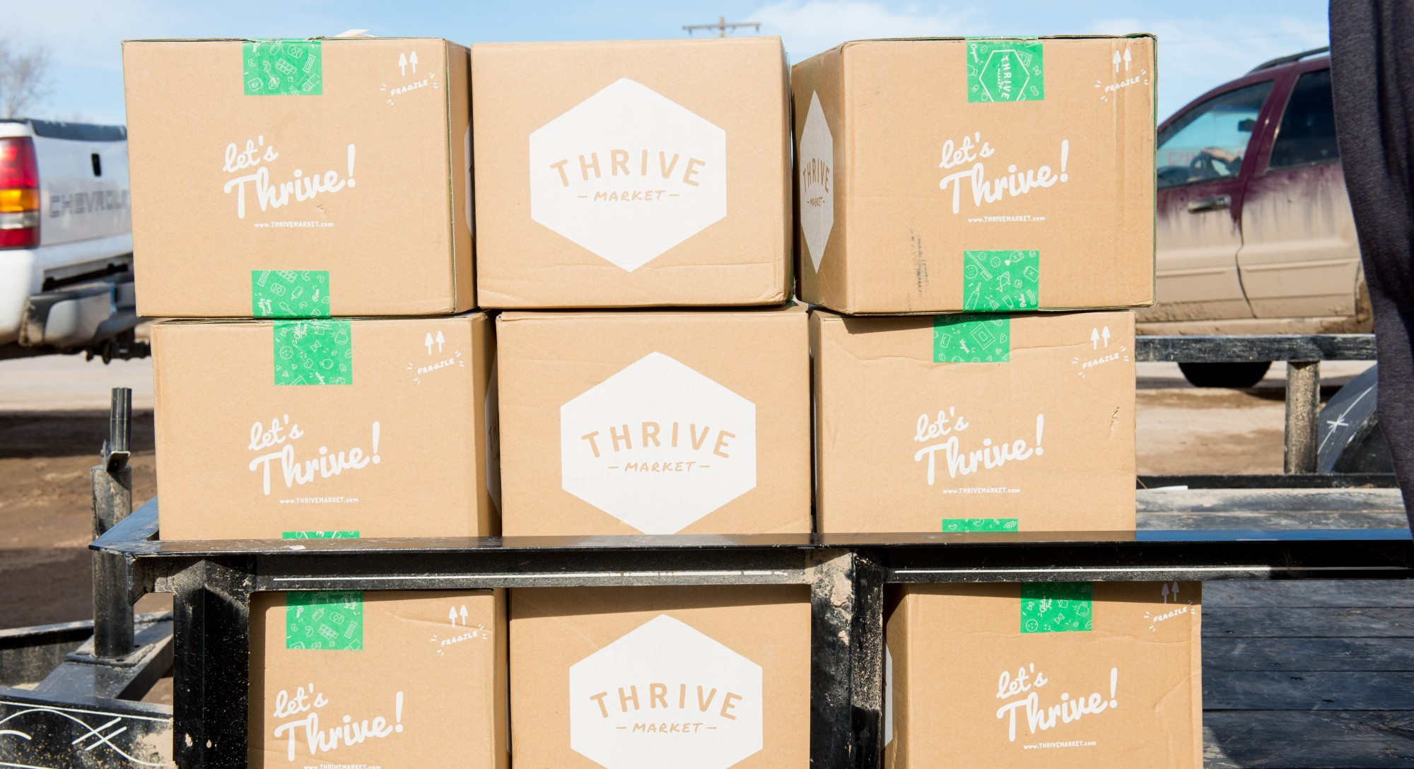 An Inside Look at the First Thrive Gives Delivery to Pine Ridge Reservation