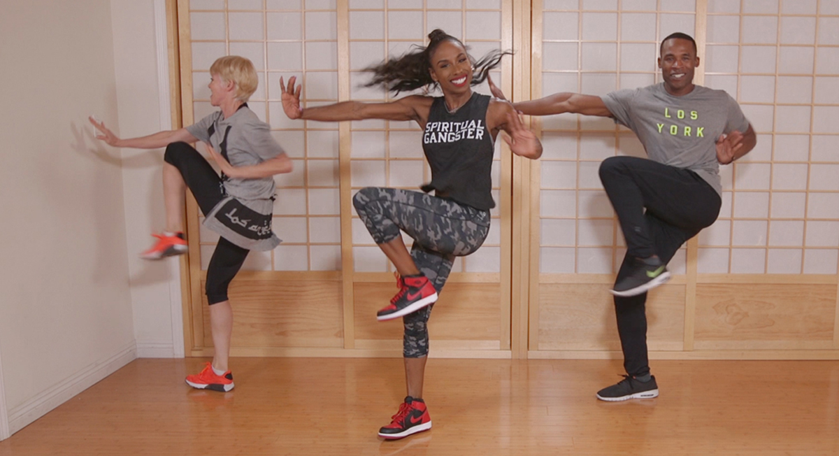 VIDEO: Break a Sweat and Have a Blast With a Dance Workout From Jessica Alba's Trainer