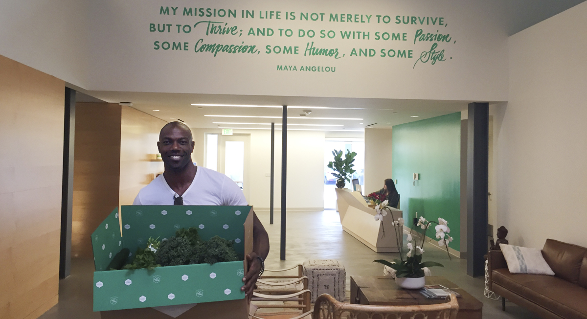 Thrive 5: NFL Legend Terrell Owens Shares His Favorite Game Day Snacks