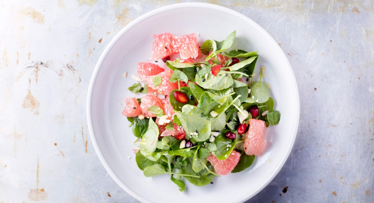 Grapefruit-Watercress Salad