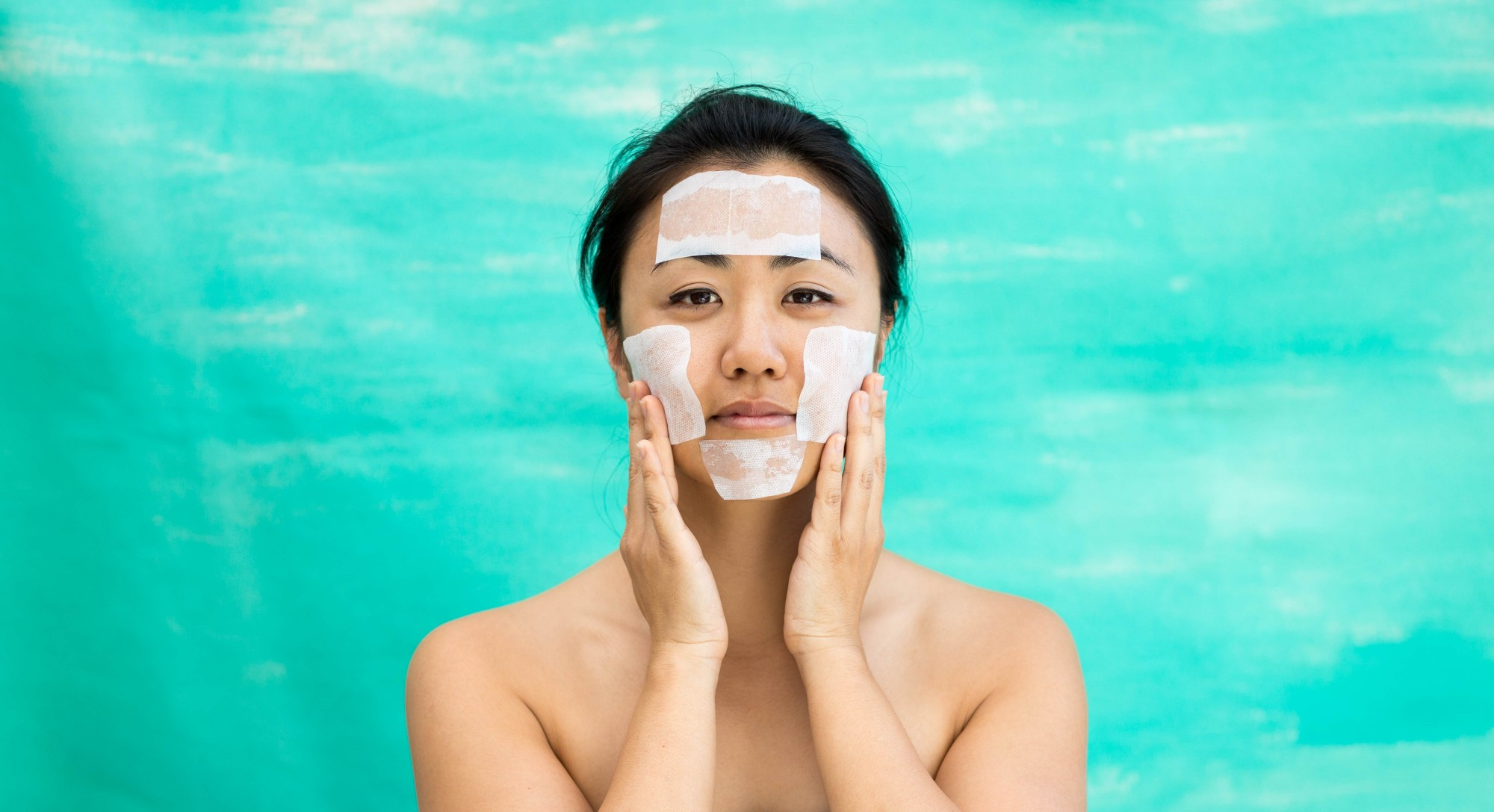 A 3-Ingredient, Korean-Inspired DIY Sheet Mask to Tighten and Brighten Skin
