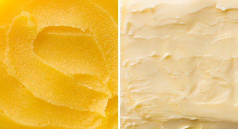 Ghee vs. Butter
