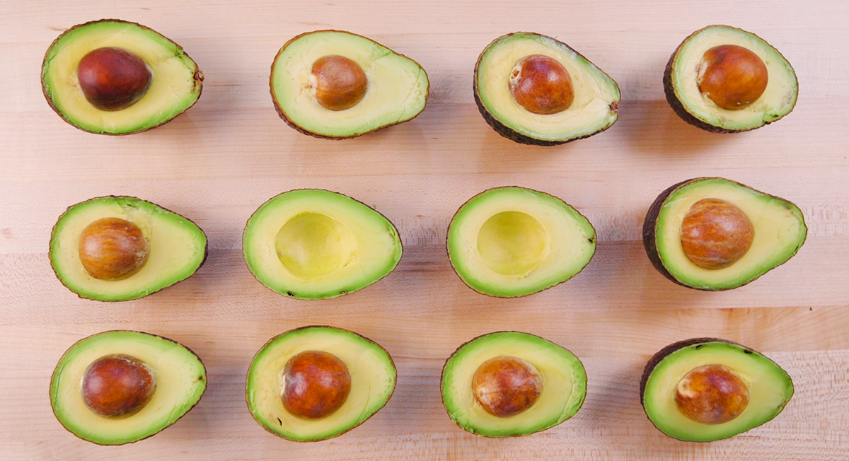 The Right Way To Eat An Avocado Pit With Chocolate