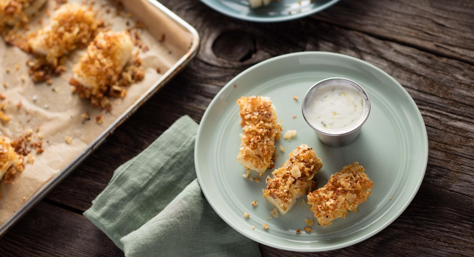 Gluten-Free Fish Sticks Recipe