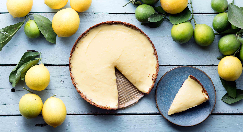 Lemon Tart With Gingersnap Crust Recipe