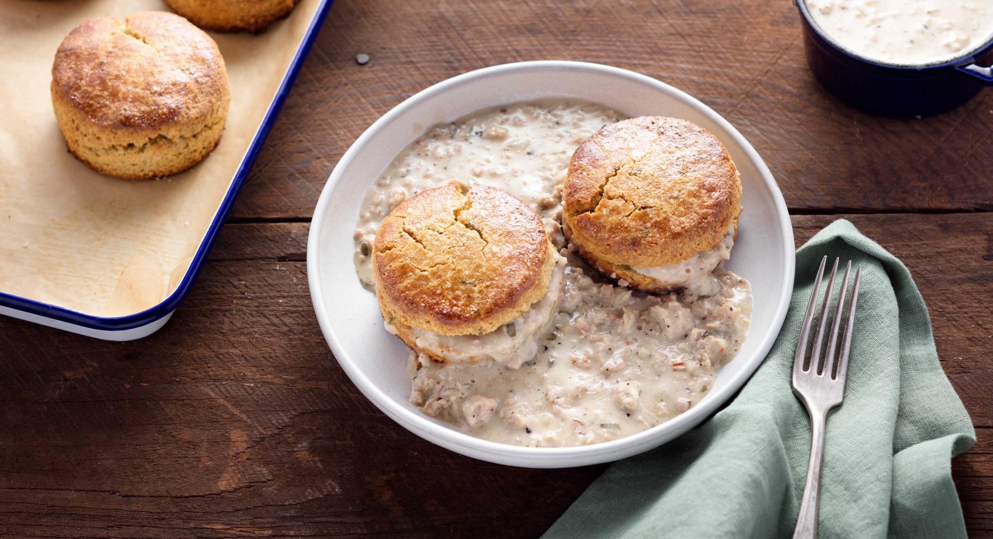 Paleo Biscuits and Gravy Recipe