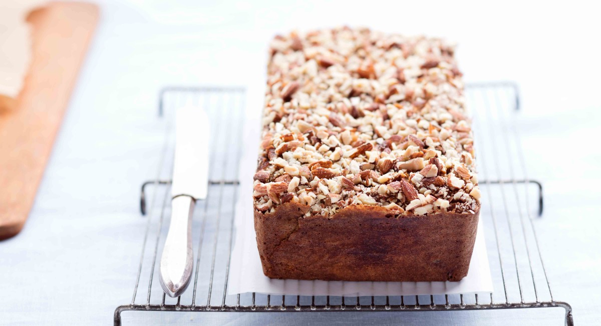 Almond-Honey Swirl Banana Bread