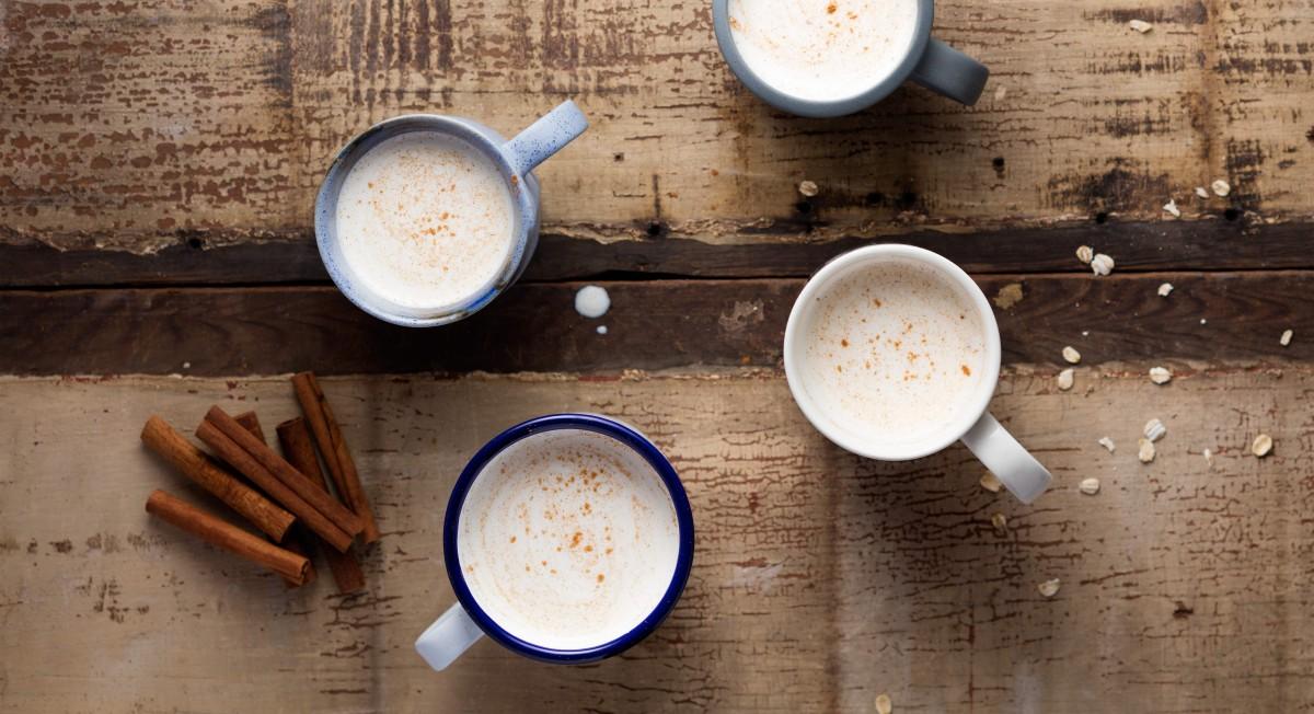 Spiced oat milk