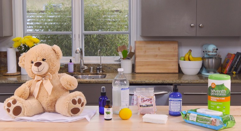 Ditch the Antibacterial Wipes! Clean Kids' Toys With These All-Natural Solutions Instead