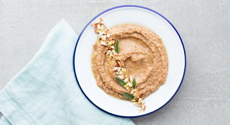 Almond Hummus Recipe