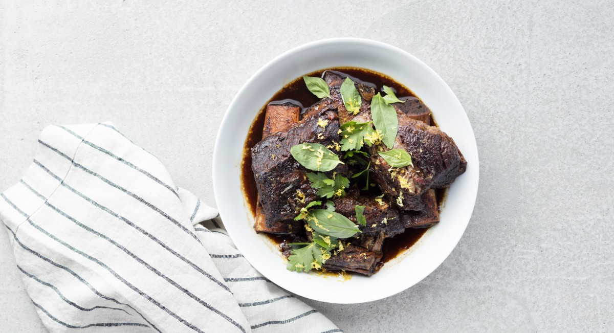 Balsamic-Braised Short Ribs